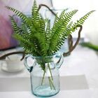 Fake Artificial Green Grass Leaf Plastic Plants Photography Props Home Decor Art