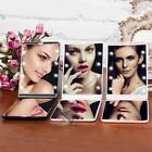 Portable Folding Compact Pocket Mirror With 8 LED Lights RR6