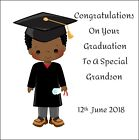 Handmade Card graduation sister brother family personalised  Congratulation