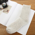 Mens Womens Thicken Thermal Wool Cashmere Casual Sports Winter Hiking Warm Socks