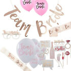 Team Bride to be Hen Night Party Sash Selfie Photobooth Balloons Tattoos Decors