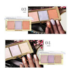 3 Colors Face Shimmer Powder Highlighter Contour Women Makeup Brighten Beauty