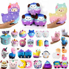 Jumbo Slow Rising Squishies Scented Cute Squishy Squeeze Charm&Toys Collect Lot