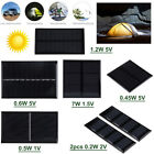 1.5/2V/3V/5V/6V Mini DIY Solar Panel Power Module For Battery Cell Phone Charger