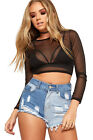 Womens Ripped Distressed Denim Hot Pants Ladies Pocket Button Shorts 2 Tone