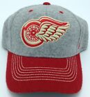 NHL Detroit Red Wings Reebok Adult Flex Fit Structured Cap Hat Beanie NEW