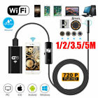 1/2/3.5/5M 2MP 8mm WIFI Endoscope Borescope Inspection Camera iPhone Android PC