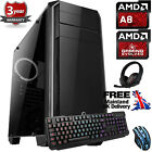 Ochw Ultra Fast Amd Quad Core Bundle8 8gb 1tb Gaming Pc Computer Windows 10 Ca