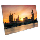 city of London summers day The Houses of Parliament Ready to Hang X1294