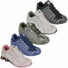 Ladies Shox Trainers Womens Camo Lace Up Mesh Army Running Jogging Gym Sports