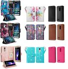 phone cash - LG PREMIER PRO Design Wallet Credit Card ID Cash Kick Stand Phone Case Tracfone