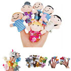Cute Story Finger Puppets 10 Animals 6 People Family Members Educational Toy
