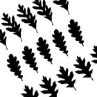 Oak Leaf Vinyl Stickers for Decal Home Decor Wall Window Roo