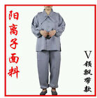 Shaolin Monk Zen Lay Clothes Buddhists Meditation Uniform Temple Monk Robe Suits
