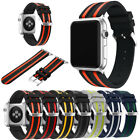 For Apple Watch Series 1 2 3!New TPU Replacement Wrist Band w/Metal Watch Clasp