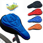Soft Comfort 3D GEL Silicone Bike Bicycle Cycling Saddle Cushion Seat Pad Cover
