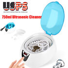 Digital Ultrasonic Cleaner Kit Ultra Sonic Bath Timer Jewellery Cleaning Tool US