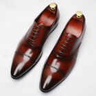 LL mens fashion new business formal shoes lace-up oxfords dress shoes size 38-44