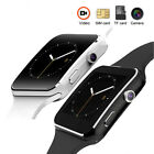 Curved Screen X6 Bluetooth Smart Wrist Watch Phone Mate SIM for Android Play