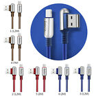 Fast Charging Micro Usb Cable Wire Sync Data 90 Degree Elbow