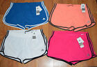 "NWT Womens ADIDAS Woven M 3"" Running Shorts Blue Pink Orange White S M L XL"
