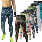 Mens GYM Compression Running Tights Camouflage Sport  Trouser Pants 02