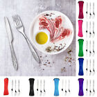 3Pcs/Set Stainless Steel Travel Camping Lunch Cutlery Fork Spoon Knife Sanwood