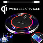 Qi Wireless Charger Charging Pad Mat For iPhone X 8 Plus Samsung S9 S8 S7 plus