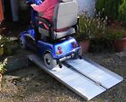 5ft 1.5m Mobility Scooter Wheelchair Folding Suitcase Ramp *VAT Free Price*
