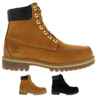 Mens Timberalnd 6 Inch Icon Moc Waterproof Lace Up Winter Ankle Boots All Sizes