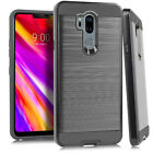 New For LG G7 Thin Q/ G710 Hard w/ Rubberized Hybrid Layer Phone Case Cover