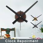 Modern Vintage 3D Large Wall Clock Sticker Movement Mechanism Quartz DIY Kit