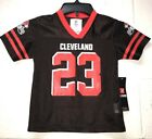NWT CLEVELAND browns NFL Football 'HADEN' 23 jersey TODDLER *4t-3x $9.99 USD on eBay