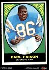 1967 Topps #75 Earl Faison Dolphins EX/MT $28.0 USD on eBay