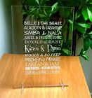 Engraved Plaque Valentines day wedding gift girlfriend partner personalised