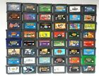 Authentic Gameboy Advance Games Play on GBA SP DSL Kirby Pokemon Wario Monsters