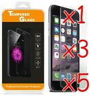 Premium Real Screen Protector Tempered Glass Film For iPhone 6 6s 7 8 8+ X  Lot