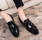 Mens Mixed Color Loafers Casual Shoes Slip On Shiny Business Shoes British U275