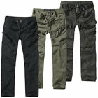 Brandit Adven Slim Fit Cargo Trousers S-XXL Army Style Outdoor Vintage Cargohose