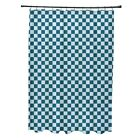 Small Over Geometric Pattern Shower Curtain