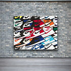 Air Jordan 1 Colorful Design Wall Art Canvas Print Poster