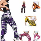 Women Pants Fashion Sports Camo Cargo Pants Outdoor Casual Trousers Jeans GIFT