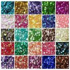 Внешний вид - 2000 PCS Oval Round Cup Sequins Paillettes Loose AB 6mm DIY for Wedding Craft