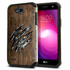 "For LG X Power 2 LV7 5.5"" / X Charge M322 / M327 Slim Impact Hybrid Case Cover"