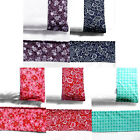 Gypsy Kids Quality 100% Cotton Baby Cot Flat Sheet with 1 Matching Pillowcase