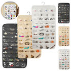 Jewelry Hanging Storage Organizer 80 Pocket Holder Earring Display Pouch Bag New