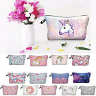 Cute Unicorn Makeup Gift Pencil Case Cosmetic Cases Travel G
