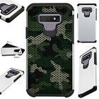 FUSIONGuard For Samsung Galaxy NOTE 9 8 S9 S8 Phone Case CAMO MESH GREEN