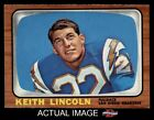 1966 Topps #127 Keith Lincoln Chargers NM $24.0 USD on eBay