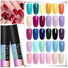 5ml Soak Off UV Gel Nail Polish LED Base Top Coat Manicure LILYCUTE 90 Colors